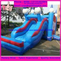 China PVC Inflatable Water Slide Indoor Playground Inflatable Slide on sale