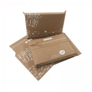 China A4 A5 Envelope Printing Services Cardboard Mailing Envelopes Custom Printed on sale