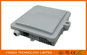 China 12 Core Plastic Optical Terminal Box, 12 Port Optical Fiber Termination box on sale