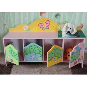 China Superway 2015 Kindergarten Wooden Furniture Children Toy Storage Cabinet on sale