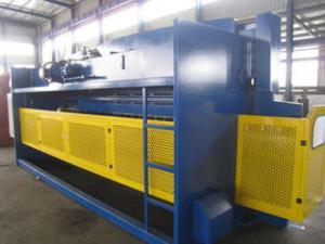 China Heavy Duty Electric CNC Hydraulic Press Brake Machine DA41 System Netherlands on sale