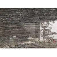 China Versace Grey Gray Gloss Marble Floor Tiles Environmentally Friendly on sale