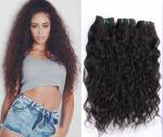 7A黒人女性バーガンディのための巻き毛の人間の毛髪延長はカスタマイズしました