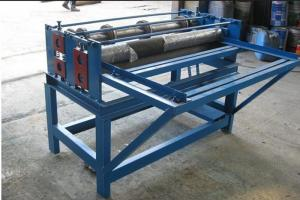 China Easy Operate Sheet Metal Slitter Machine?For Roll Forming System Cutting Tiles on sale