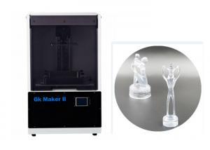 China Desktop SLA 3D Printer 405nm Photosensitive Resin Laser Scanning Galvanometer supplier