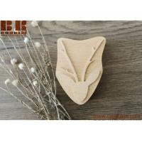 China Deer stamp, deer pattern Christmas gift woodland pattern wooden XMAS gift on sale