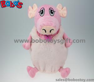 China High Quanlity Plush Pig Animal Toy Children School Backpack on sale