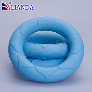 Quality Blue Color Memory Foam Back Cushion Pillow Car Seat Lumbar Rest Office Chair for sale