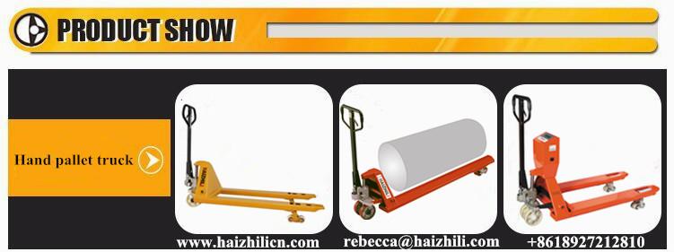 Haizhili pallet jack large capacity hydraulic hand pallet