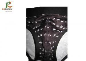 China Spandex Mens Bikini Swimwear Polyester Material CMYK Color Stretch Fabric on sale