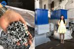 single shaft shredder /industrial shredders for waste materials,lumps