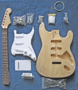 China diy guitar kits ,unfinished guitar kits on sale