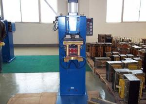 China Pneumatic Spot Resistance Welding Machine For Cable Reels With Double Welding Torch on sale