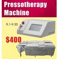 Air Pressure Pressotherapy Lymphatic Drainage Fat Reduction Body Slimming Machine
