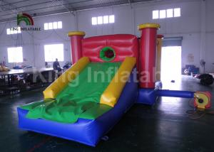 China Home Children Jumping Bouncy Castles With Slide / Inflatable Air Bouncer on sale