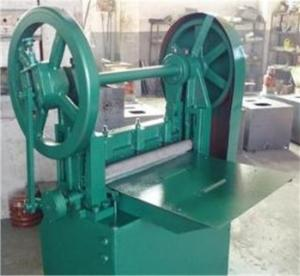 China 1.5kw Rubber Sheet Safety Plastic Cutting Machine on sale