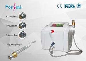 China micro gold plating Fractional thermage tips max rf skin treatment Facial intracel laser  for acne scars wrinkle on sale