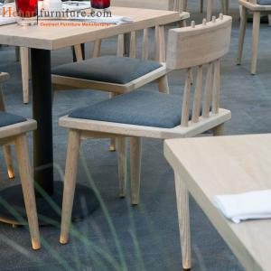 Fabric Seat Restaurant Dining Tables And Chairs With Natural Wood Skin Veneer For Sale Restaurant Furniture Manufacturer From China 104660017