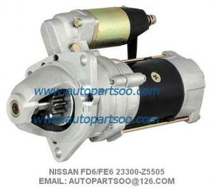 China NISSAN FE6 FD6 STARTER MOTOR 23300-Z5505 23300-Z5002 23300-Z5511 SAWAFUJI 24V 11T on sale