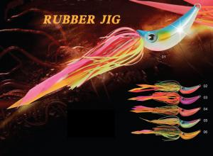 China New design rubber jig bait fishing lure JWRBJG01 on sale
