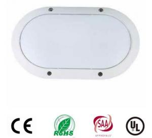 China 10W Oval Led Bulkhead Light Utdoor Ceiling Light Fixtures Aluminum Housing Osram Chip on sale