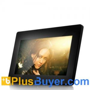 China 10 Inch Digital Photo Frame + Media Player (1024 x 600, Remote) on sale