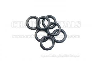 China Black Neoprene Rubber O Rings High Tensile Strength Flame Resistance on sale