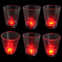 Music mahjong Flashing Cup LL-0218A with 7 red Leds