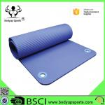 Good Quality Exercise Mat Thick NBR Yoga Mat with Ring
