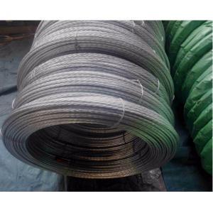 China GTS galvanisé non allié 7/8 de fil de séjour avec la bobine BS183 et EN10244 on sale