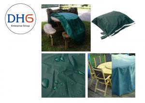 China Pretty Green Universal Grill Covers , Custom BBQ Covers Picnic Application Reliable on sale