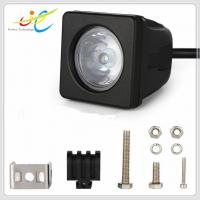 China Hot sale 9~30V DC 2inch square 10W Cree flood spot motorcycle light IP68 LED driving light for motorbike on sale