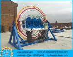 carnival mobile human gyroscope for sale amusement outdoor park equipment for sale