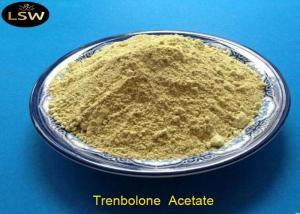 China Tren Acetate Trenbolone Powder CAS 10161-34-9 Yellow Color Bodybuilding Supplements on sale