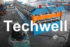 China Стандартный крен листа толя широкой пяди IBR формируя машину с 5,5 Kw силы главного мотора on sale