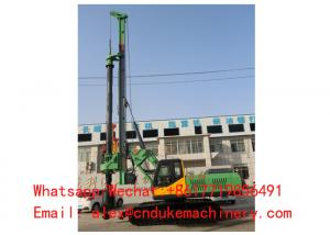 China HYDRAULIC STRONG POWER FOUNDATION CONSTRUCTION CRAWLER DRILLING RIG on sale