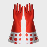 China For Hand Protection  Extra Long Sleeve Rubber Gloves Textured And Comforble on sale