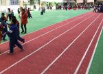 Anti Skidding PP Running Track Flooring Anti Oxidation With Drainage System