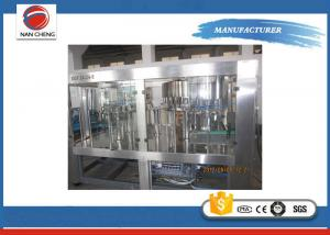 Quality 2000bph Plastic Bottle Pure Water Rinsing Filling Capping Machine for sale