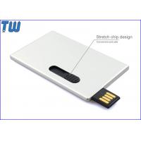 China Sliding Business Card 2GB USB Memory Stick Disk Storage USB Device on sale