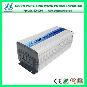 China 6kw/6000W DC/AC Pure Sine Wave Inverter with European Socket (QW-P6000) on sale