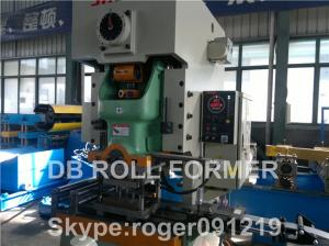 China Fire Damper Purlin Roll Forming Machine production line WITH automatic on sale