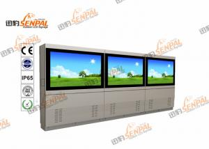 China 4K Resolution Digital Signage LCD Advertising Display For Shopping Mall Sunlight Readable on sale