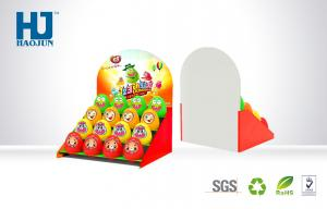 China Supermarket Cardboard Countertop Displays Convenient Waterproof For Eggs on sale