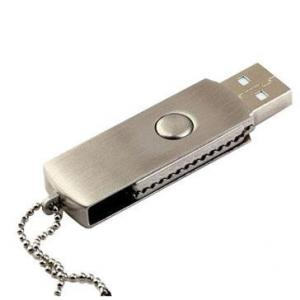 China Custom Usb Memory Stick 128gb Flash Drive Flash Usb 2.0 Rotate Pendrive With Logo on sale