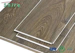 China Interior Decoration SPC Vinyl Plank Flooring With Rigid Core Technology on sale
