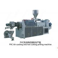 China Air Cooling Plastic Recycling Granulator Machine 80 - 700 Kg / H Die Face Cutting on sale