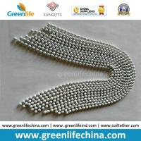 New Fashion White Plated Snake Nickle-Free Decorative Beaded Metal Chain