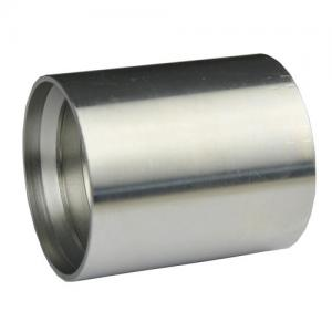 China Sae 100 R1at Hydraulic Ferrule Fittings 00100 Zinc Plated Surface Treatment on sale