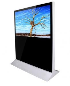 China 4G Indoor Horizontal Digital Signage Kiosk Monitor 65 Inch For Airport on sale